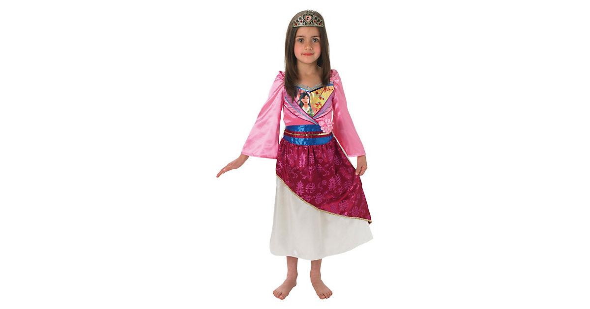 Kostüm Mulan Shimmer Gr. 116/128 Mädchen Kinder
