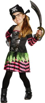 Kostüm Punky Pirate Gr. 128 Mädchen Kinder