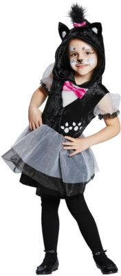 Kostüm Kätzchen Gr. 128 Mädchen Kinder