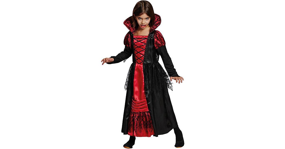 Kostüm Vampirkleid Gr. 152 Mädchen Kinder