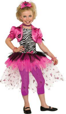 Kostüm Pink Punk Prinzessin Gr. 140/152 Mädchen Kinder
