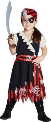Kostüm Piratin Gr. 164 Mädchen Kinder