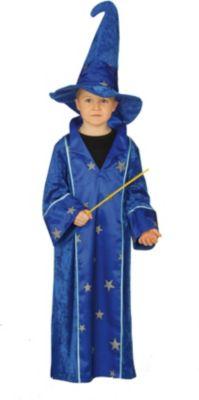Kostüm Zauberer Gr. 140 Jungen Kinder