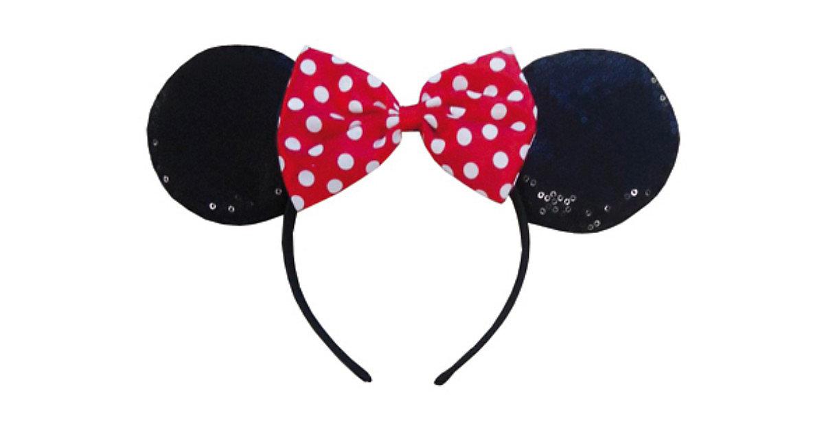Haarreif Minnie Mouse Ohren rot Mädchen Kinder