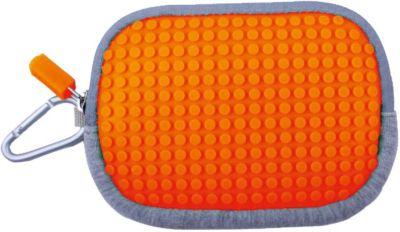 Маленькая пиксельная сумочка Pixel Cotton Pouch WY-B006, светло-оранжевый