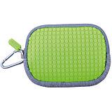 Маленькая пиксельная сумочка Pixel Cotton Pouch WY-B006, светло-зеленый