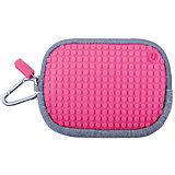 Маленькая пиксельная сумочка Pixel Cotton Pouch WY-B006, светло-розовый