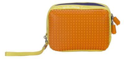 Ручная сумка Клатч Canvas Handbag WY-B003, желтый-оранжевый