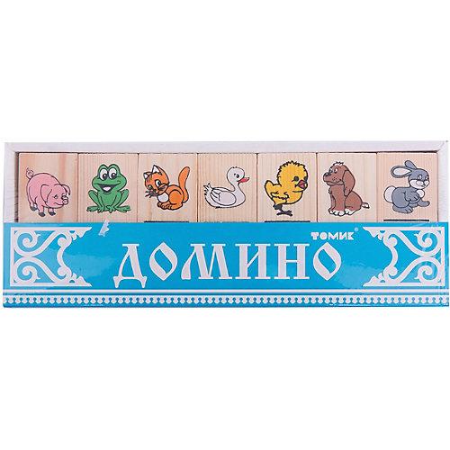 """Домино """"Животные"""", Томик от Томик"""