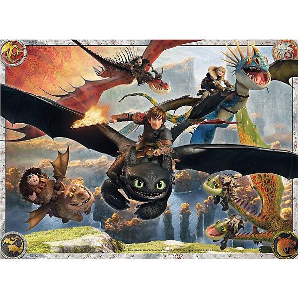 Dragons: Drachenzähmen leicht gemacht 150 Teile XXL