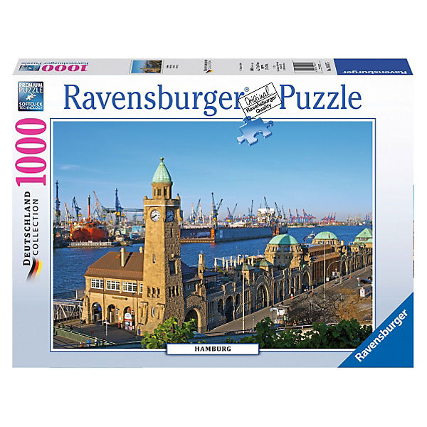 Puzzle Hamburg 1000 Teile, Ravensburger