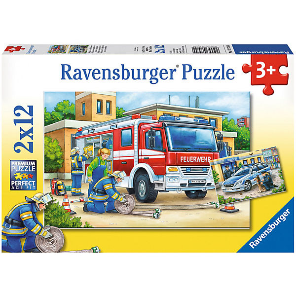 ravensburger puzzle polizei