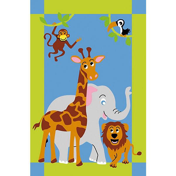 Kinderteppich tiere  Kinderteppich Dschungel Tiere, BC kids   myToys