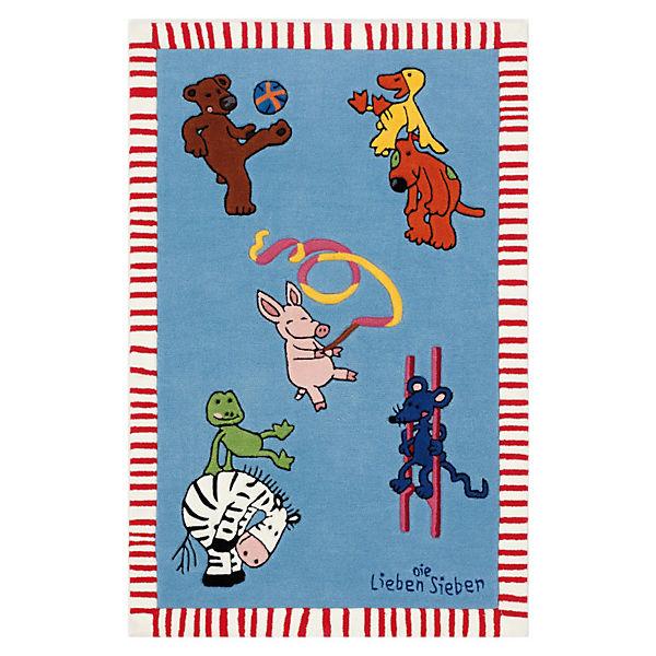 Kinderteppich die lieben sieben  Kinderteppich Die Lieben Sieben Play, Die lieben Sieben | myToys