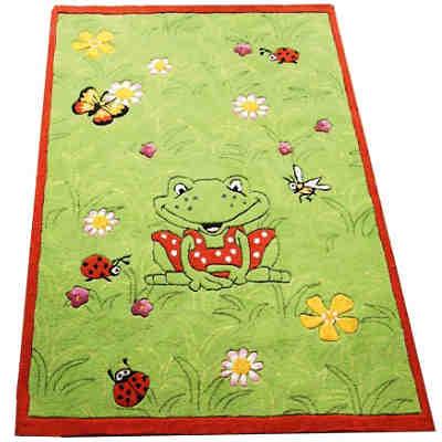 Kinderteppich die lieben sieben  Kinderteppich Garden, Frosch Wiese, Die Spiegelburg | myToys