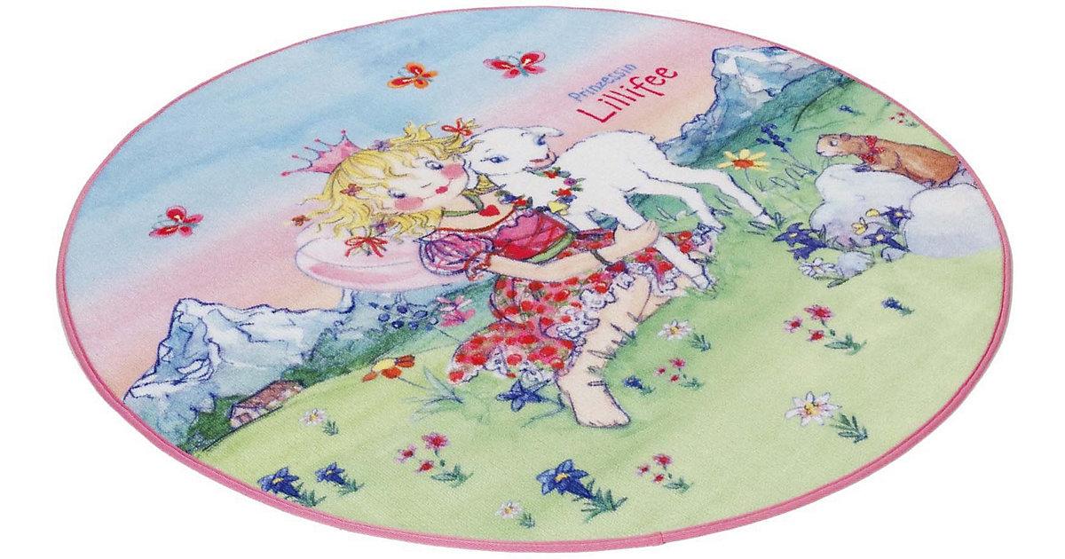 Kinderteppich Prinzessin Lillifee rund rosa Gr. 100