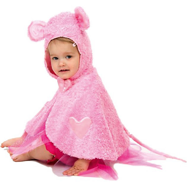 Maus Cape pink (Baby)