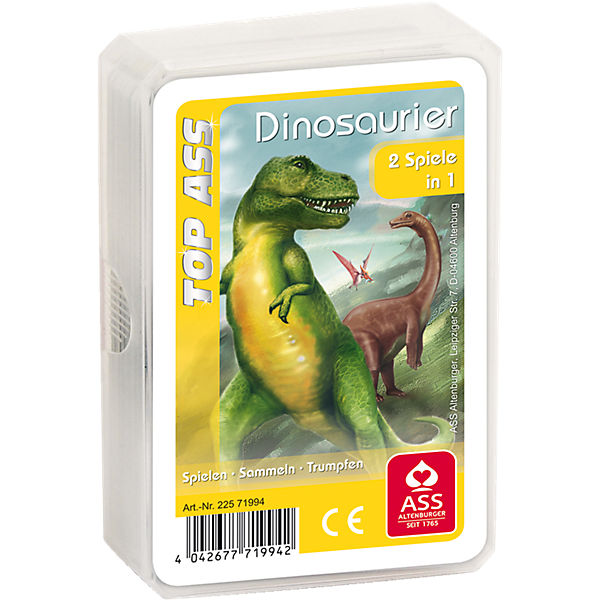 TOP ASS Quartett Dinosaurier, ASS