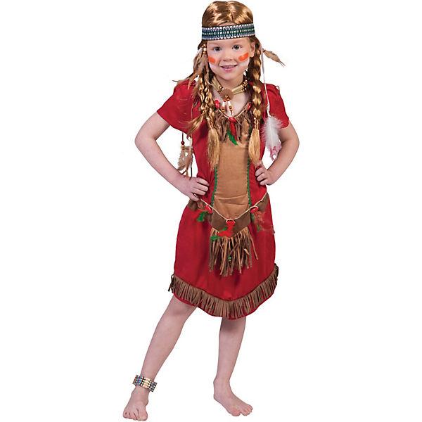 Kostum Indianer Madchen Funny Fashion Mytoys