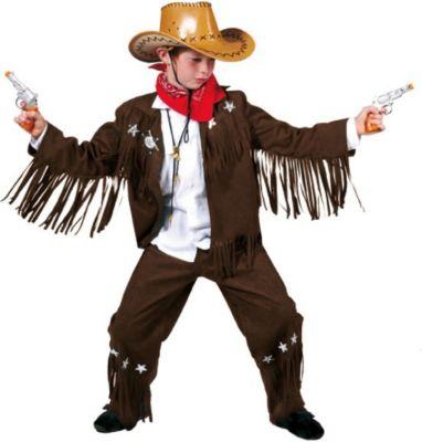 Kostüm Cowboy Bud Gr. 140 Jungen Kinder