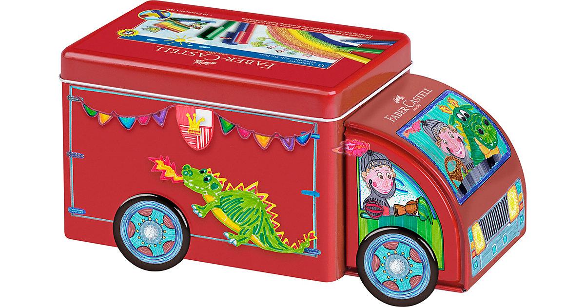 CONNECTOR Pen Truck mit Filzstiften, 33 Farben & Zubehör
