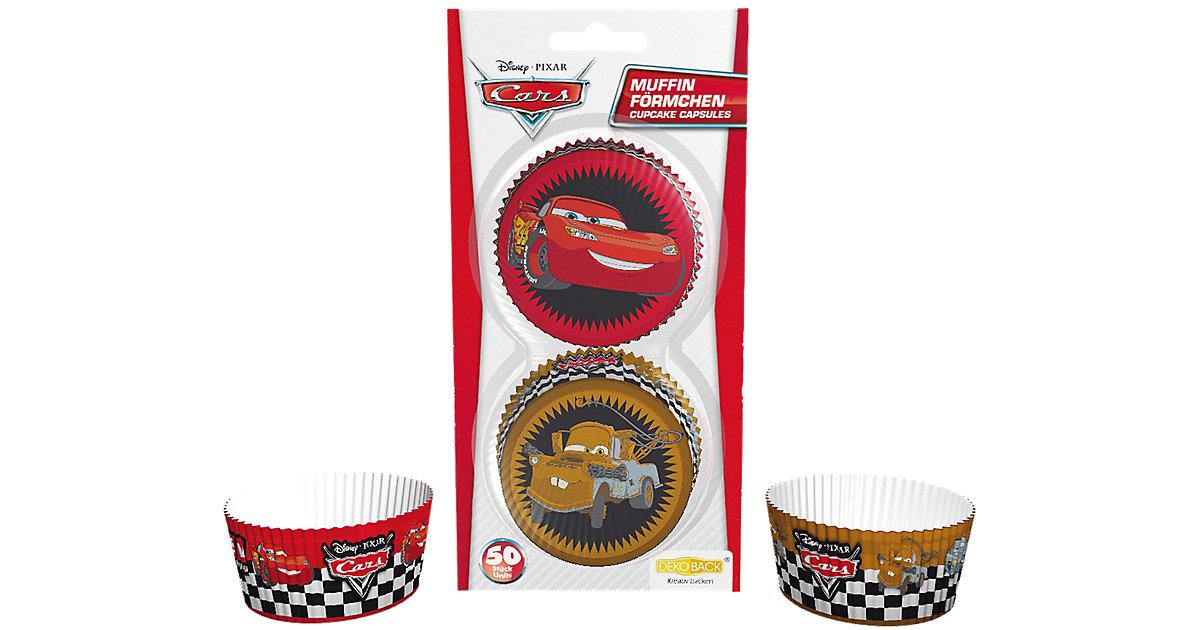 Muffinförmchen Cars, 50 Stück rot