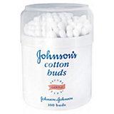 Ватные палочки 100 шт, Johnson`s baby, 100 шт