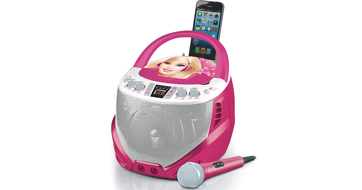 Barbie CD-Player mit Karaoke