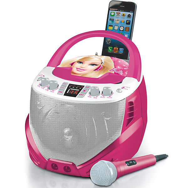 Barbie CD-Player mit Karaoke, Barbie