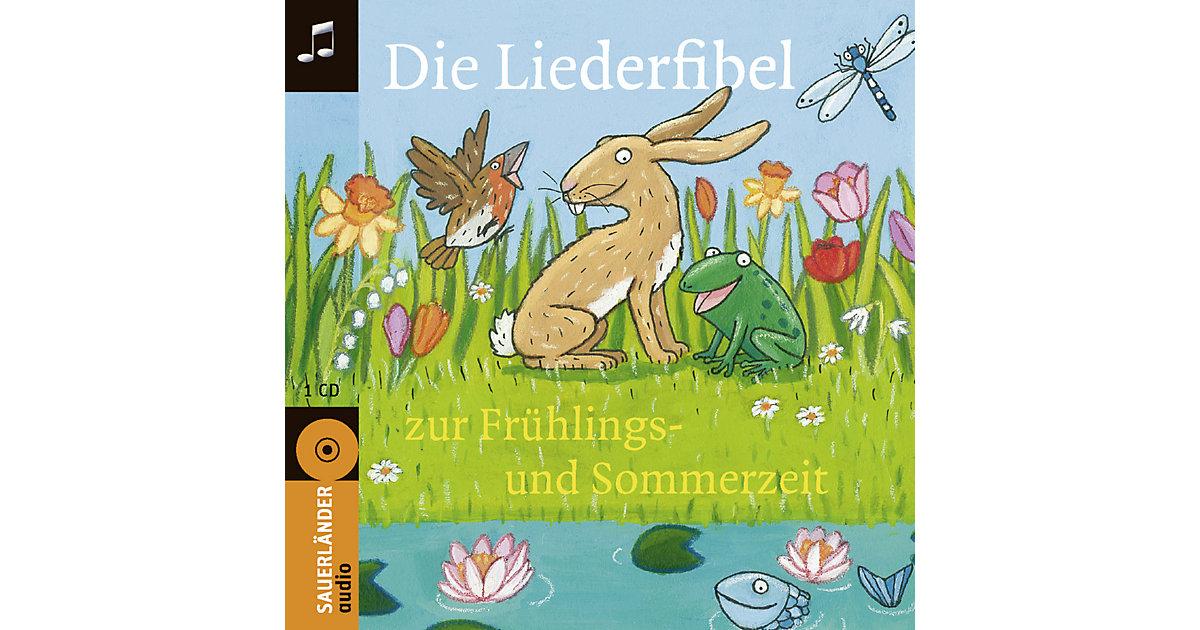 Die Liederfibel zur Frühlings- und Sommerzeit, 1 Audio-CD Hörbuch