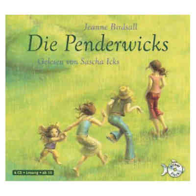 Die Penderwicks, 4 Audio-CDs