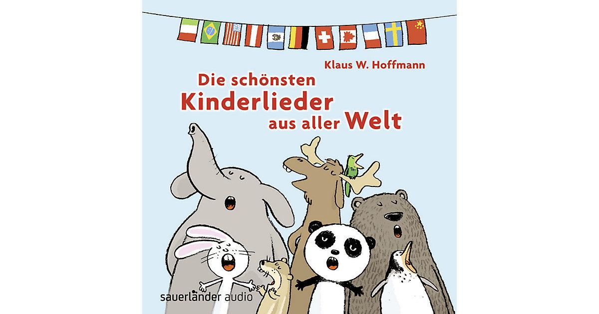 Die schönsten Kinderlieder aus alller Welt, 1 Audio-CD Hörbuch