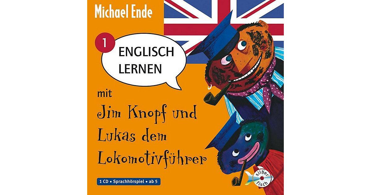 Englisch lernen mit Jim Knopf und Lukas dem Lokomotivführer, Band 1, 1 Audio-CD Hörbuch