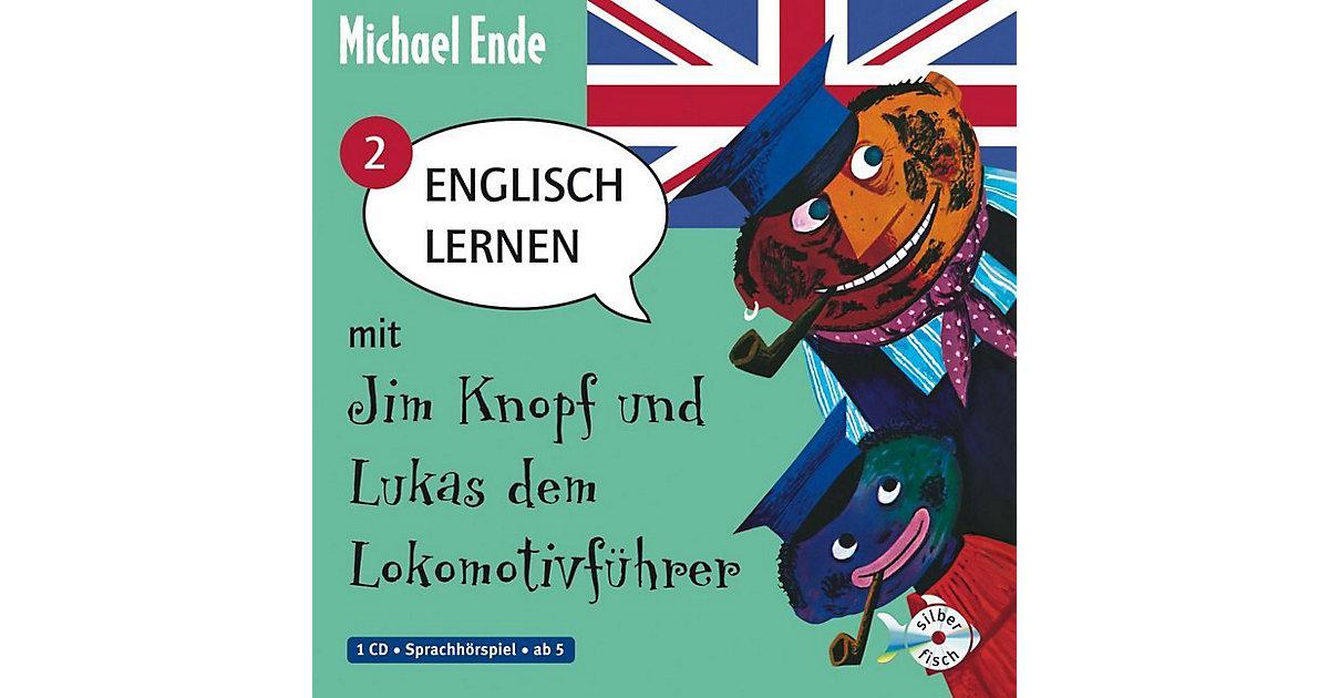 Englisch lernen mit Jim Knopf und Lukas dem Lokomotivführer, Band 2, 1 Audio-CD Hörbuch
