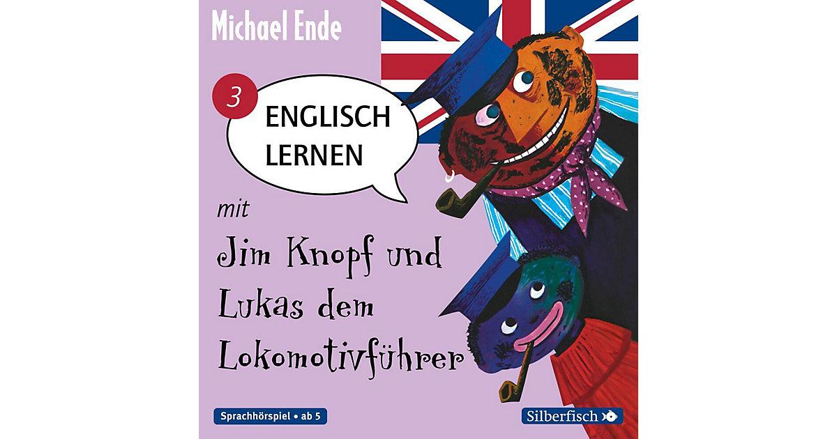 Englisch lernen mit Jim Knopf und Lukas dem Lokomotivführer, Band 3, 1 Audio-CD Hörbuch
