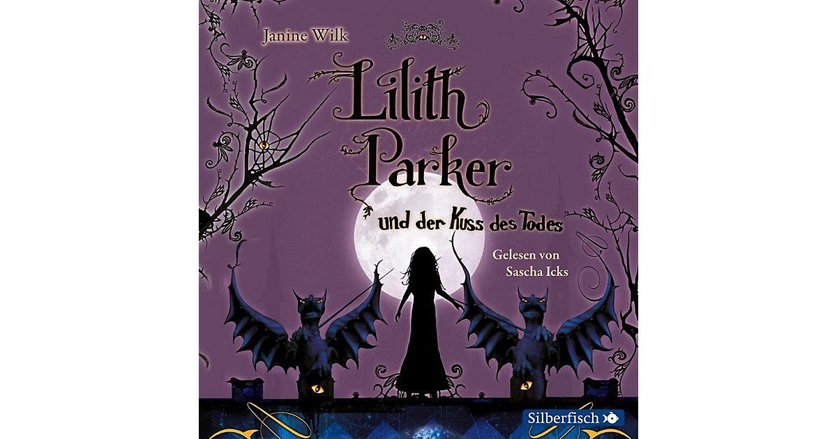 Carlsen · Lilith Parker und der Kuss des Todes, 4 Audio-CDs