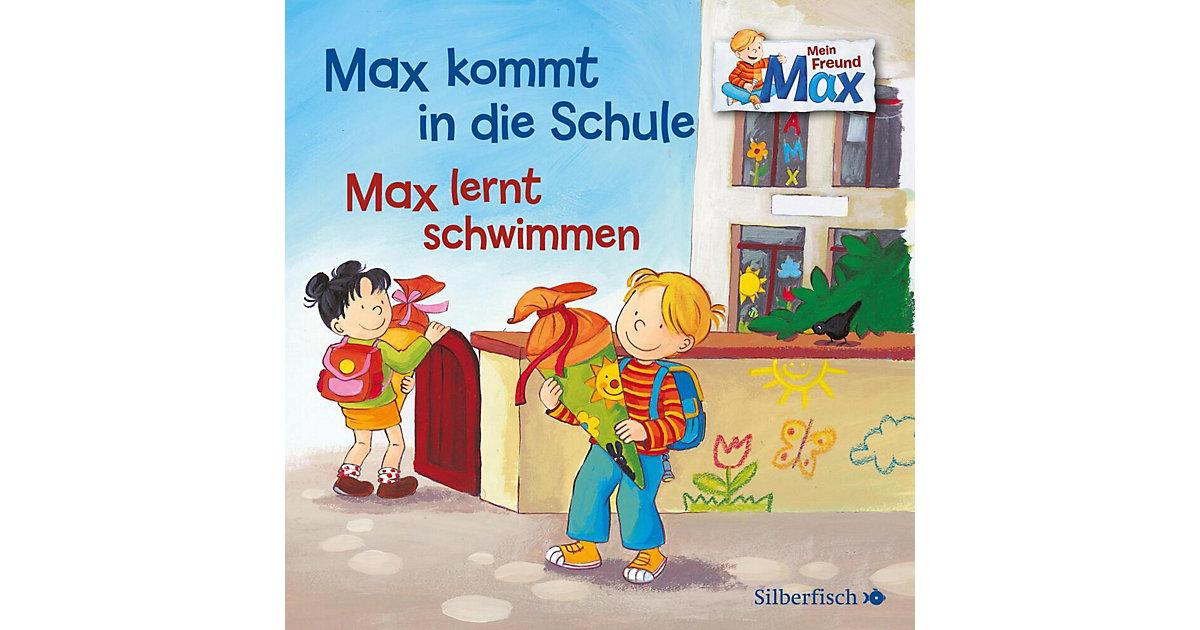 Mein Freund Max: Max kommt in die Schule / Max lernt schwimmen, 1 Audio-CD Hörbuch