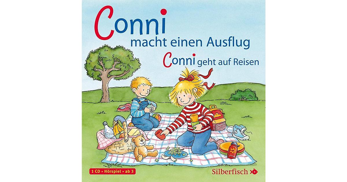 Meine Freundin Conni: Conni macht einen Ausflug / Conni geht auf Reisen, 1 Audio-CD Hörbuch