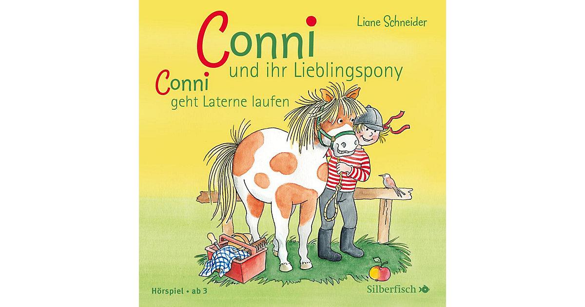 Meine Freundin Conni: Conni und ihr Lieblingspony / Conni läuft Laterne, Audio-CD Hörbuch