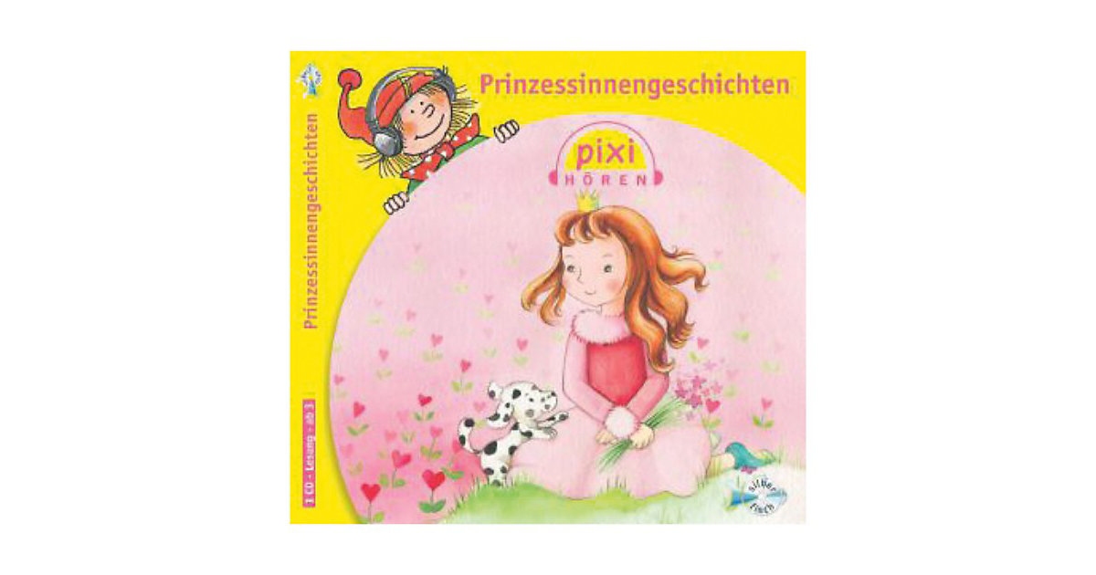 Pixi hören: Prinzessinnengeschichten, 1 Audio-CD