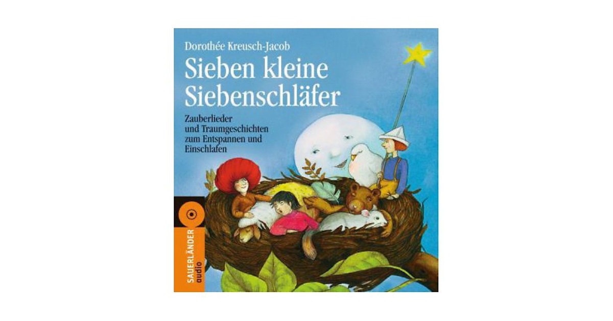 Sieben kleine Siebenschläfer, Audio-CD Hörbuch