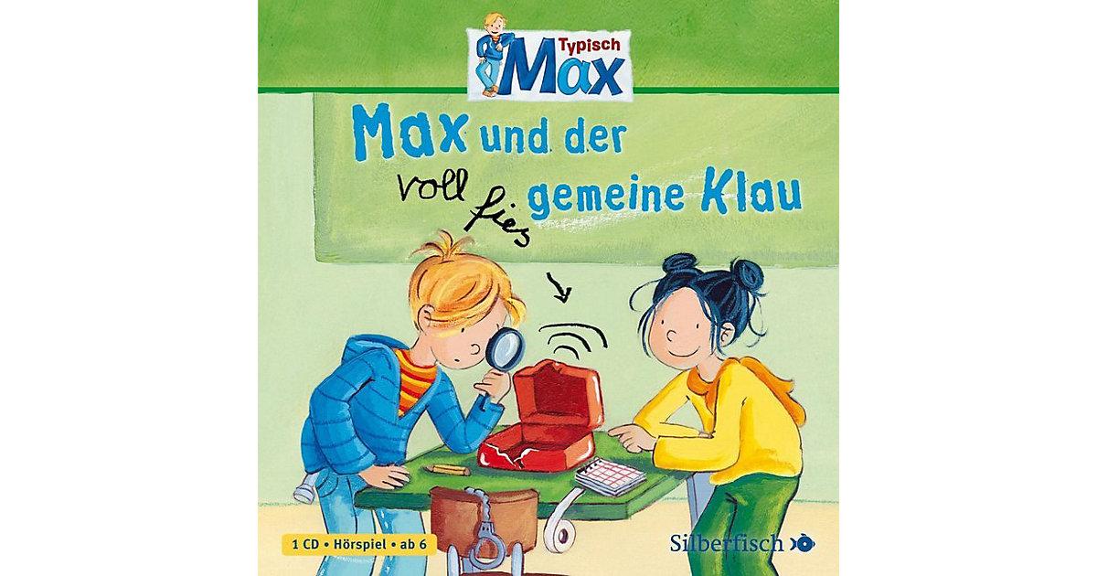 Typisch Max: Max und der voll fies gemeine Klau, Band 2, 1 Audio-CD Hörbuch