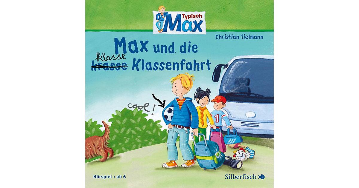 Typisch Max: Max und die klasse (krasse) Klassenfahrt, Band 1, 1 Audio-CD Hörbuch