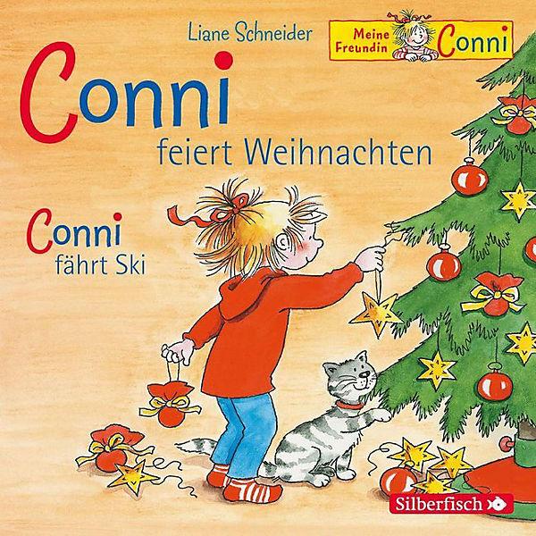 conni feiert weihnachten conni f hrt ski 1 audio cd. Black Bedroom Furniture Sets. Home Design Ideas