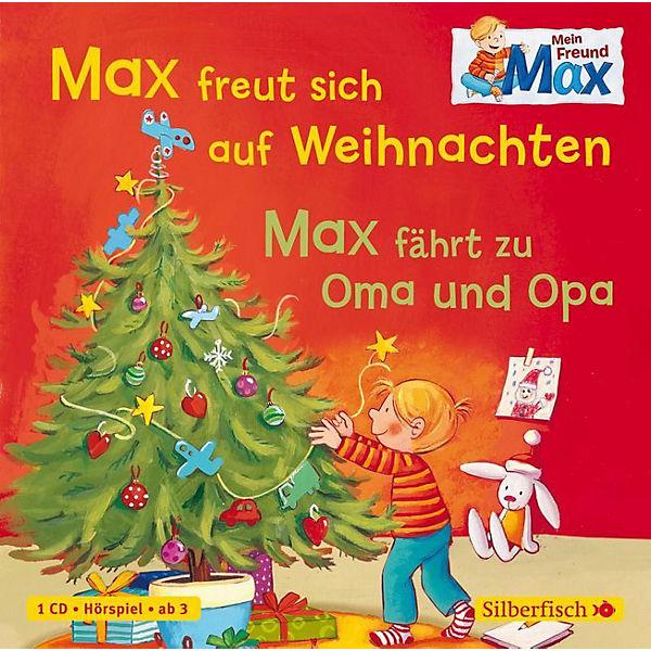 Cd Weihnachten.Mein Freund Max Max Freut Sich Auf Weihnachten Max Fährt Zu Oma Und Opa 1 Audio Cd Christian Tielmann