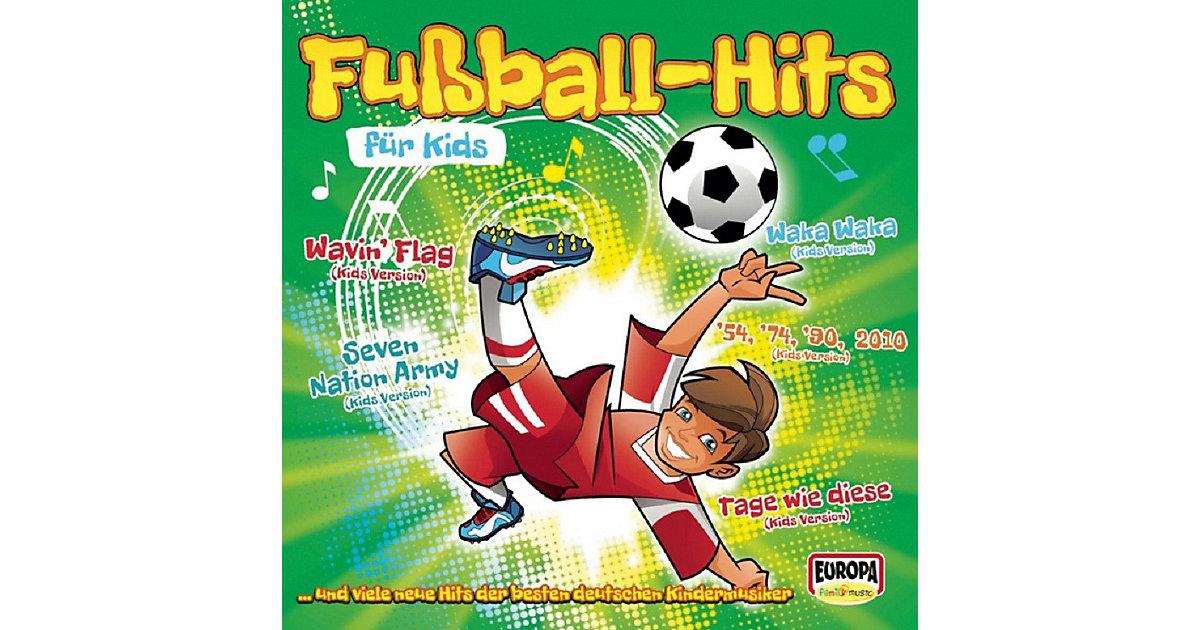 CD Fußball Hits Kids Kinder