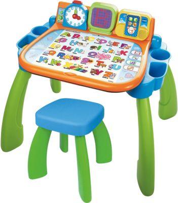 3 in 1 Magischer Schreibtisch grünblau, Ready, Set, School