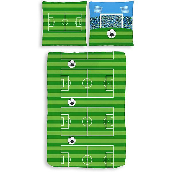 Kinderzimmer junge fußball  Kinderbettwäsche Fußball, Biber, 135 x 200 cm, | myToys