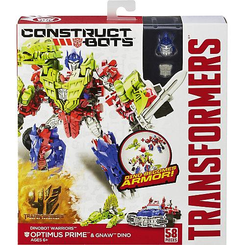 Констракт Боты: Диноботы Optimus Prime & Gnaw Dino, Войны, Трансформеры 4 от Hasbro