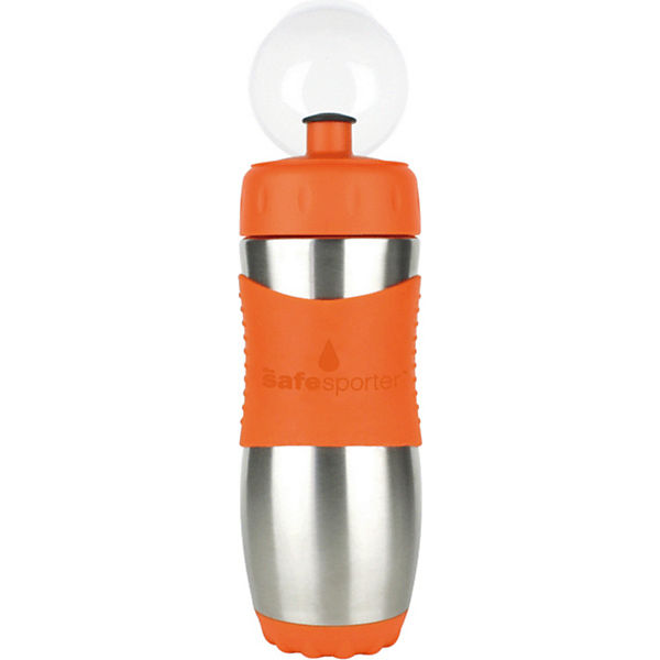 Safe Sporter Trinkflasche, 475 ml, Orange